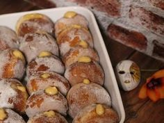 Bomboloni, az olasz fánk Italy Food, Italian Recipes, Italian Foods, Pretzel Bites, Oreo, Sausage, Deserts, Goodies, Food And Drink