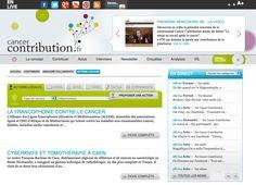 """Accessible depuis la home page (bouton vert en haut à gauche : """"je partage mes bons plans dans l'annuaire""""), il permet à chacun d'indiquer à la communauté les livres, les vidéos, les sites, les applications, les événements, les associations et les actions locales qui lui tiennent à coeur...    http://www.cancercontribution.fr/"""