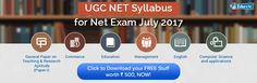 UGC NET Syllabus for Net Exam July 2017 | Updated