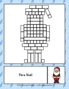 Les Réglettes de Noël Kindergarten Activities, Preschool, File Folder Games, Theme Noel, Sick Kids, 1st Grade Math, Christmas Activities, Learn French, Xmas