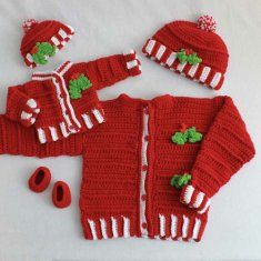 """American Girl """"dolly & me"""" matching crochet outfit pattern"""