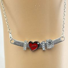 Love Heart 1d I Love One Direction necklace Pendant - Price: 	$5.99 http://astore.amazon.com/1dstore-20/detail/B00HHQVQ12