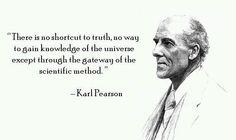 Karl Pearson.
