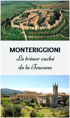 Monteriggioni: le plus petit et le plus beau village que j'ai jamais visité. Caché au cœur de la Toscane, en Italie, entre Volterra et Sienne.