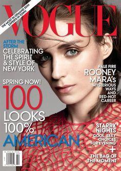 Rooney Mara  Vogue Magazine Cover [United States] (February 2013)