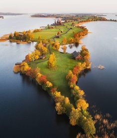 Autumn on the Kizhi island in Karelia, Russia...