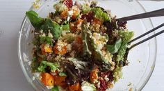 Pompoen quinoa salade