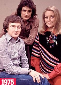 TV show Magpie's presenters:  Douglas Rae, Mick Robertson and Jenny Handley.