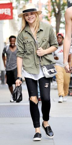 Chloë Grace Moretz's Best Street Style Looks - June 18, 2014 from #InStyle