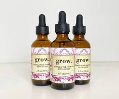 Stimulating Hair Oil - 3 Month Supply