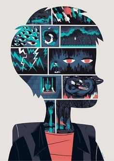 Illustrations by Steve Scott   Inspiration Grid   Design Inspiration