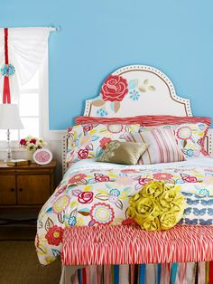 Making this for A's room this weekend - love the headboard!