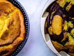 Delicias Maravillosas: Budín de cacao y matcha. Gluten y Sugar Free.