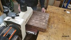 How to Make an End Grain Butcher Block: 13 Steps (with Pictures) Butcher Block Top, Butcher Block Countertops, Rough Cut Lumber, Router Bits, Woodworking Projects Diy, Grains, Cutting Boards, How To Make, Korn