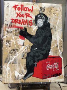 Bansky - street art - soho - USA