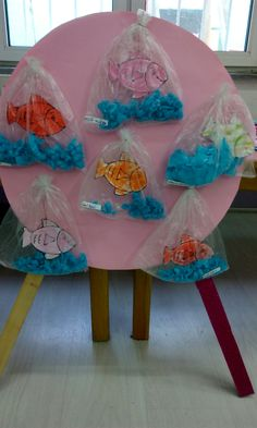 use to display activity fish good Kids Crafts, Summer Crafts, Toddler Crafts, Summer Fun, Diy And Crafts, Arts And Crafts, Paper Crafts, Art N Craft, Craft Work