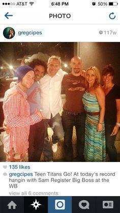 Gregory Michael Cipes, Khary Payton, Mark Register, Scott Menville, Tara Strong.