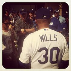 Dodgers legend No. 30 Maury Wills (taken Mar 11, 2012)