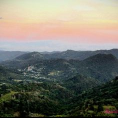 Cayey, Puerto Rico My Mom's hometown in Puerto Rico, what an Amazing Sight!!