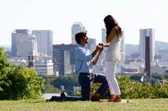 Our engagement overlooking downtown Nashville.  Photographer: Chloe Polivka. www.chloepolivkadesign.com/photography