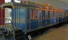 Ludwig II of Bavaria's train by Jim D. Woodward, via Flickr