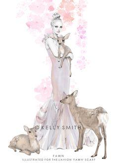 Sweet Harmonie: KELLY SMITH ILUSTRADORA