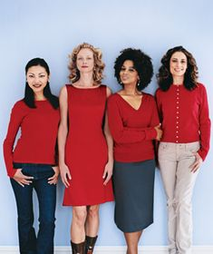 Flattering Color: True Red