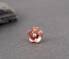 Cherry Blossom Helix Tragus cartilage Earring  ROUND by HapaGirls, $12.00