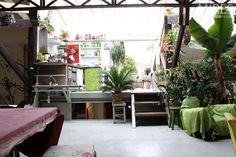 Espace de vie - un ancien garage. #InteriorDesign