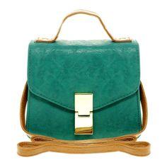 Asos Contrast Handle Flat Lock Across Body (1.780 RUB) ❤ liked on Polyvore featuring bags, handbags, shoulder bags, purses, bolsas, accessories, women, blue handbags, blue shoulder bag and purse crossbody