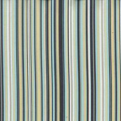 Michael Miller - Play Stripe Sea - cotton fabric