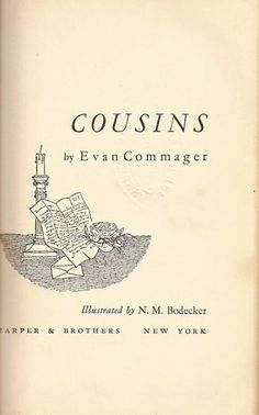Cousins by Evan Commager