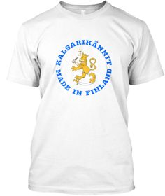 Kalsarikännit - Made in Finland  suomileijona  kalsarikanni  kalsarikannit   huumorpaita  suomileijonapaita   435943a312