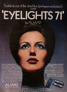 Almay 'Eyelights' Eyeshadow Ad, 1970