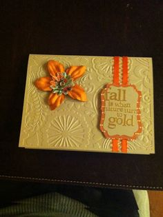My handmade thanksgiving card