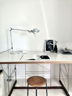 Tolomeo Micro : aluminium, by Michele De Lucchi and Giancarlo Fassina for Artemide