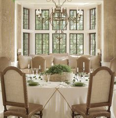 i love the bay window in the dining room, I would change everything else..