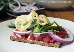 A New Take on Tartarmad | Danish Open Sandwiches (Smørrebrød)