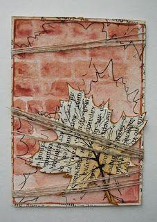 leaf and brick wall ATC
