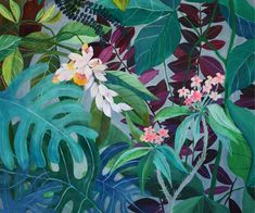 Tropicalia - illustration - giclee print by artandpeople on Etsy https://www.etsy.com/uk/listing/387249684/tropicalia-illustration-giclee-print