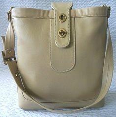 Vintage Bonnie Cashin For Meyers Bucket Style Handbag