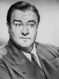 This is one of SHANNON's earlier portraits featuring Lou Costello of the famous comedy duo Abbott & Costello.
