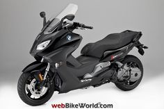 BMW C650 Sport Gray Bmw Scooter, Maxi Scooter, Vespa Scooters, My Dream Car, Dream Cars, T Max 530, Motorized Bicycle, Bmw Cars, Cars And Motorcycles