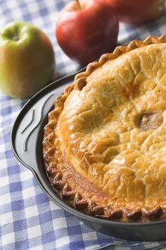 Μηλόπιτα Sweet Pie, Apple Pie, Desserts, Aluminium Foil, Tailgate Desserts, Deserts, Postres, Dessert, Apple Pie Cake