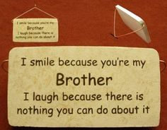 I love my brothers <3
