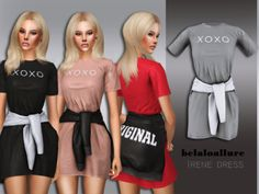 belaloallure_Irene dress // sims 4 cc on the sims resources // clothing Sims 4 Toddler Clothes, Sims 4 Mods Clothes, Sims 4 Cc Kids Clothing, Mods Sims 4, Sims 4 Game Mods, Sims 4 Tsr, Vetements Clothing, The Sims 4 Packs, Pelo Sims