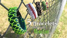 Have some cobra/solomon bracelets you need to re-energize? Try these 5 bracelets you can make with or add to with micro cord!