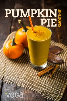 Enjoy pumpkin pie flavors all year round with our favorite pumpkin pie smoothie recipe. Beautifully smooth and creamy rich, this is a healthy smoothie recipe to keep in your arsenal every day of the year! Who said that dessert can't be healthy? #VegaSmoothie http://myvega.com/vega-life/recipe-center/pumpkin-pie-smoothie/