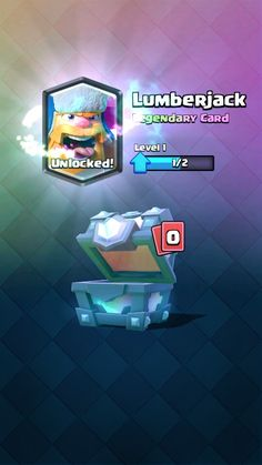 Upon reaching legendary arena, I received a lumberjack. I was hoping for a miner or graveyard but at least it's not a legendary I have, I'll take it!