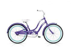 "20"" girls Electra Hawaii, metallic purple"